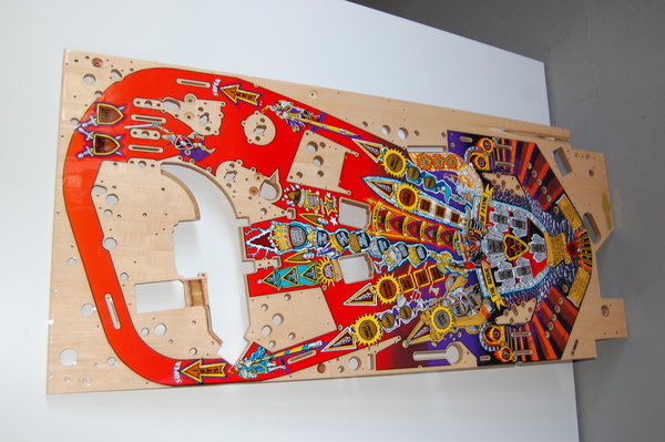 Medieval Madness Mirco playfield