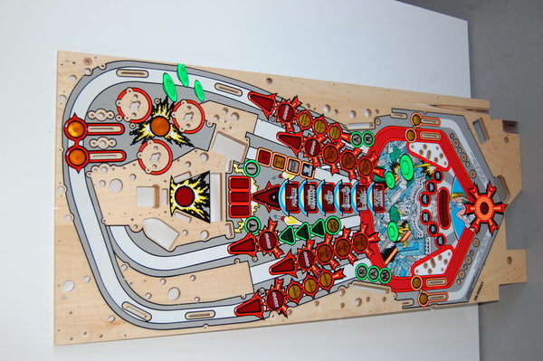 Attack from Mars Mirco playfield