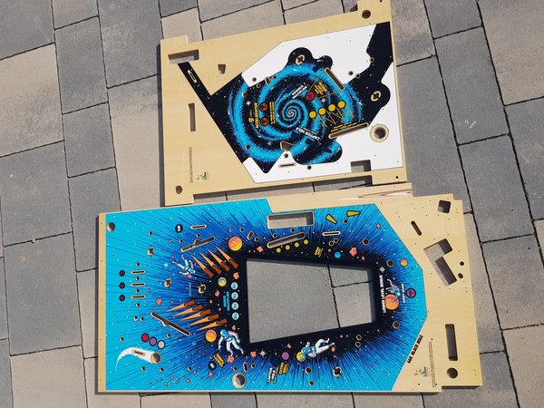 Black Hole Mirco playfield set