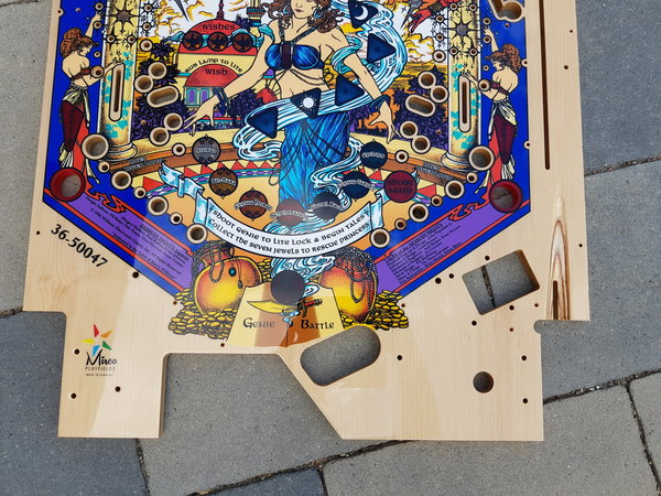 Tales of the Arabian Nights Mirco playfield