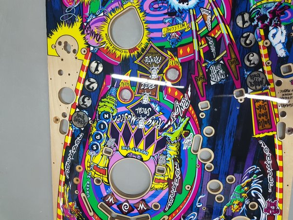 Cirqus Voltaire Mirco playfield set