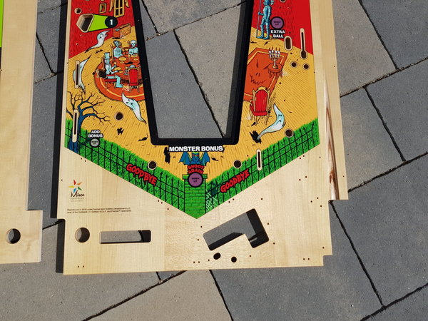 Haunted House Mirco playfield set