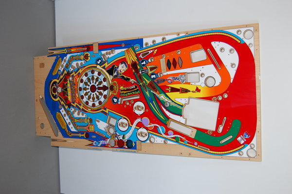 Funhouse Mirco playfield