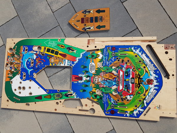 Fish Tales Mirco playfield set
