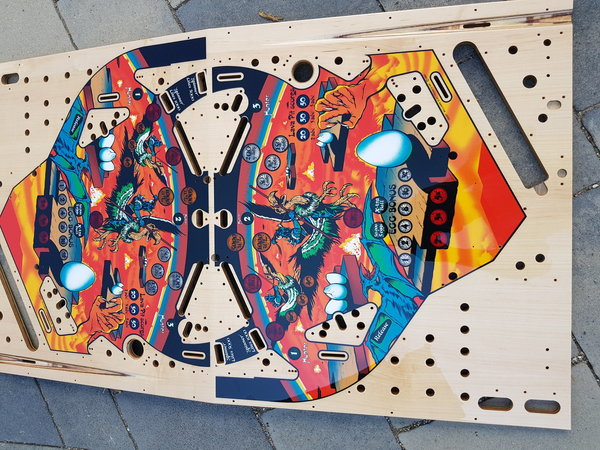 Joust Mirco playfield
